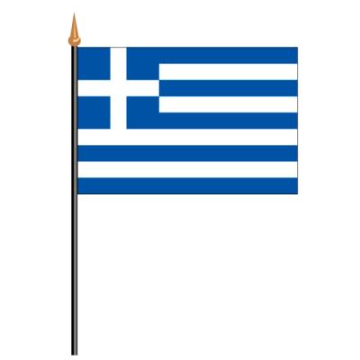 Tischfähnli, an PVC-Stab Griechenland, 10 x 15 cm