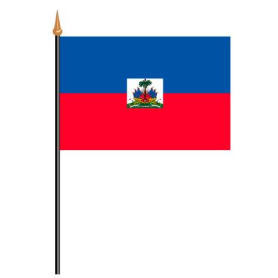 Tischfähnli, an PVC-Stab Haiti, 10 x 15 cm
