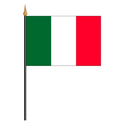 Tischfähnli, an PVC-Stab Italien, 10 x 15 cm