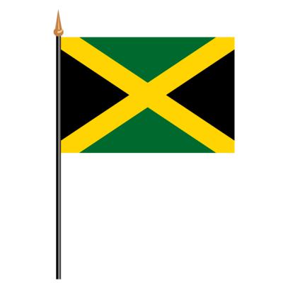 Tischfähnli, an PVC-Stab Jamaika, 10 x 15 cm