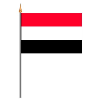 Tischfähnli, an PVC-Stab Jemen, 10 x 15 cm