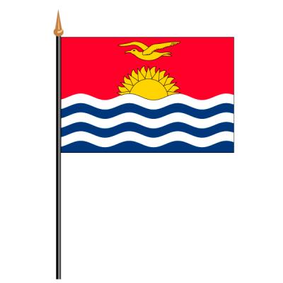Tischfähnli, an PVC-Stab Kiribati, 10 x 15 cm