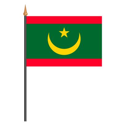Tischfähnli, an PVC-Stab Mauretanien, 10 x 15 cm