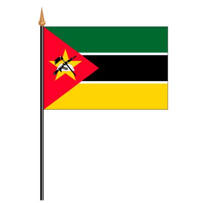 Tischfähnli, an PVC-Stab Mosambik, 10 x 15 cm