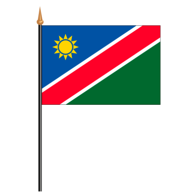 Tischfähnli, an PVC-Stab Namibia, 10 x 15 cm