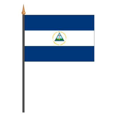 Tischfähnli, an PVC-Stab Nicaragua, 10 x 15 cm