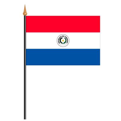 Tischfähnli, an PVC-Stab Paraguay, 10 x 15 cm