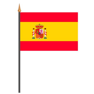 Tischfähnli, an PVC-Stab Spanien, 10 x 15 cm