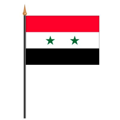 Tischfähnli, an PVC-Stab Syrien, 10 x 15 cm