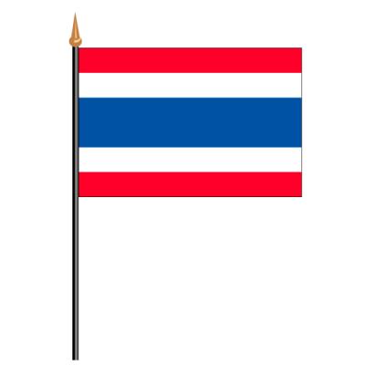 Tischfähnli, an PVC-Stab Thailand, 10 x 15 cm