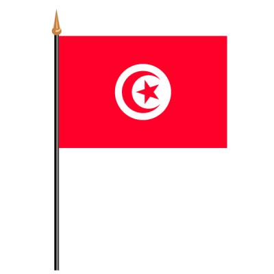 Tischfähnli, an PVC-Stab Tunesien, 10 x 15 cm