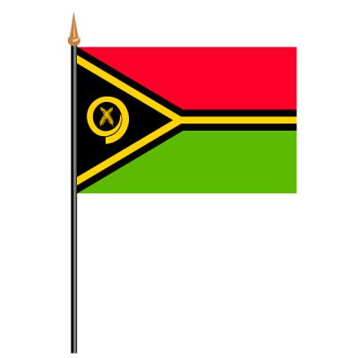 Tischfähnli, an PVC-Stab Vanuatu, 10 x 15 cm