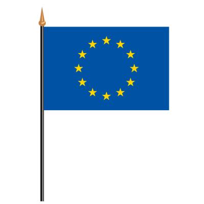 Tischfähnli, an PVC-Stab Europa, 10 x 15 cm