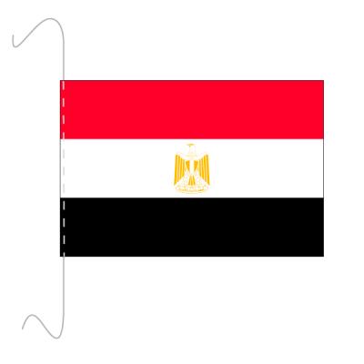 Tischfähnli, inkl.Kordel Ägypten, 10 x 15 cm