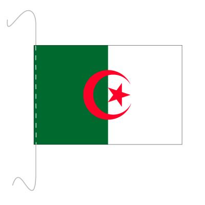 Tischfähnli, inkl.Kordel Algerien, 10 x 15 cm