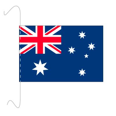 Tischfähnli, inkl.Kordel Australien, 10 x 15 cm
