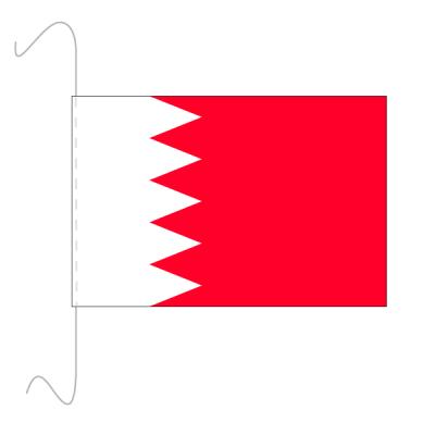 Tischfähnli, inkl.Kordel Bahrain, 10 x 15 cm