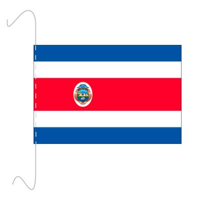 Tischfähnli, inkl.Kordel Costa Rica, 10 x 15 cm