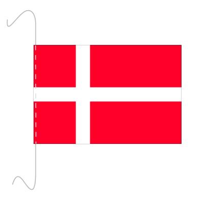 Tischfähnli, inkl.Kordel Dänemark, 10 x 15 cm