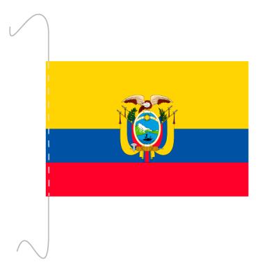 Tischfähnli, inkl.Kordel Ecuador, 10 x 15 cm