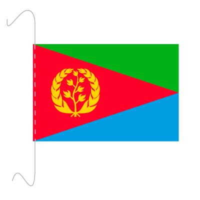 Tischfähnli, inkl.Kordel Eritrea, 10 x 15 cm