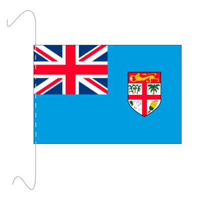 Tischfähnli, inkl.Kordel Fidschi, 10 x 15 cm