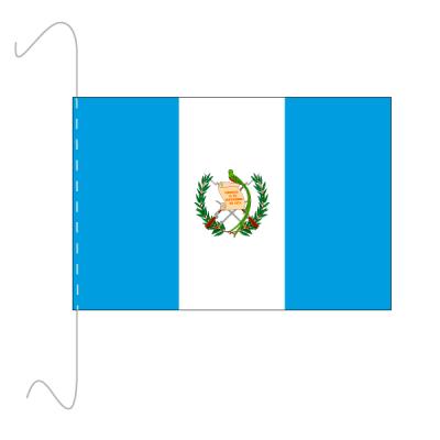Tischfähnli, inkl.Kordel Guatemala, 10 x 15 cm