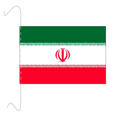 Tischfähnli, inkl.Kordel Iran, 10 x 15 cm