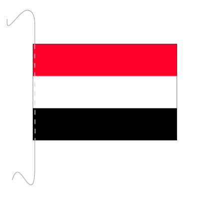 Tischfähnli, inkl.Kordel Jemen, 10 x 15 cm