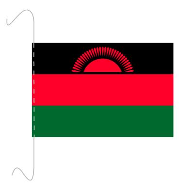Tischfähnli, inkl.Kordel Malawi, 10 x 15 cm