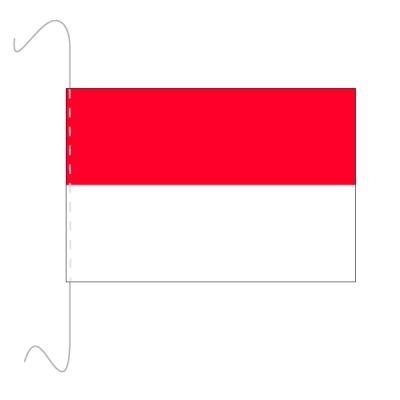 Tischfähnli, inkl.Kordel Monaco, 10 x 15 cm