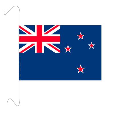Tischfähnli, inkl.Kordel Neuseeland, 10 x 15 cm