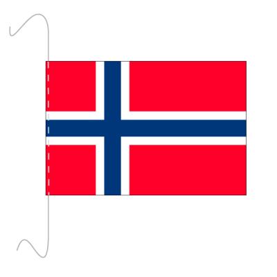 Tischfähnli, inkl.Kordel Norwegen, 10 x 15 cm