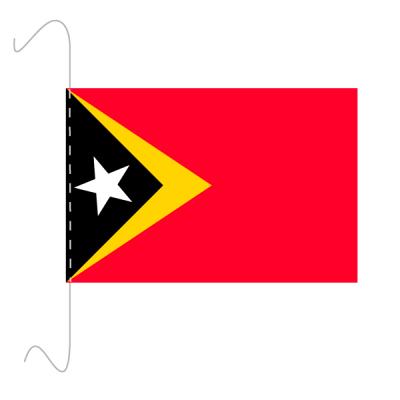 Tischfähnli, inkl.Kordel Osttimor, 10 x 15 cm