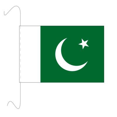Tischfähnli, inkl.Kordel Pakistan, 10 x 15 cm