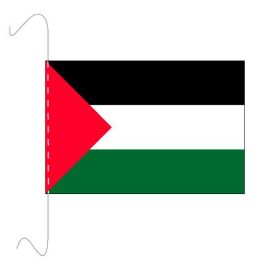 Tischfähnli, inkl.Kordel Palästina, 10 x 15 cm