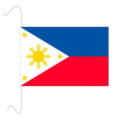 Tischfähnli, inkl.Kordel Philippinen, 10 x 15 cm