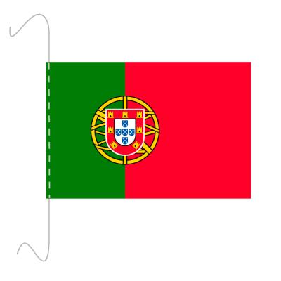Tischfähnli, inkl.Kordel Portugal, 10 x 15 cm