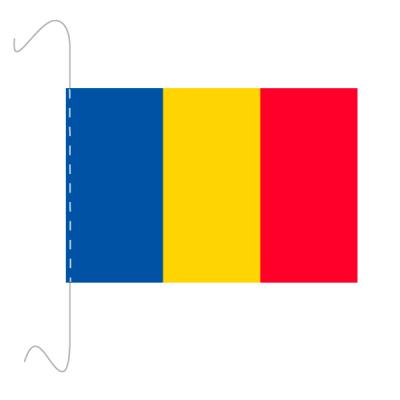 Tischfähnli, inkl.Kordel Rumänien, 10 x 15 cm