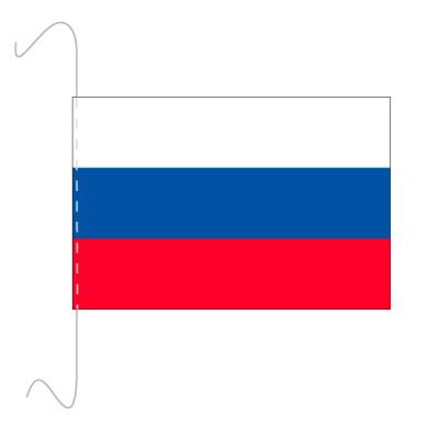 Tischfähnli, inkl.Kordel Russland, 10 x 15 cm