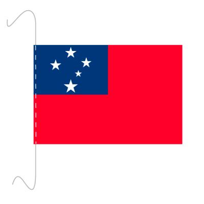 Tischfähnli, inkl.Kordel Samoa, 10 x 15 cm