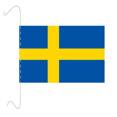 Tischfähnli, inkl.Kordel Schweden, 10 x 15 cm