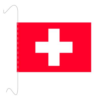 Tischfähnli, inkl.Kordel Schweiz, 10 x 15 cm