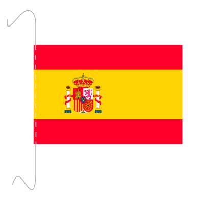 Tischfähnli, inkl.Kordel Spanien, 10 x 15 cm