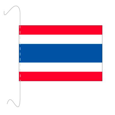 Tischfähnli, inkl.Kordel Thailand, 10 x 15 cm
