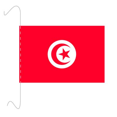 Tischfähnli, inkl.Kordel Tunesien, 10 x 15 cm