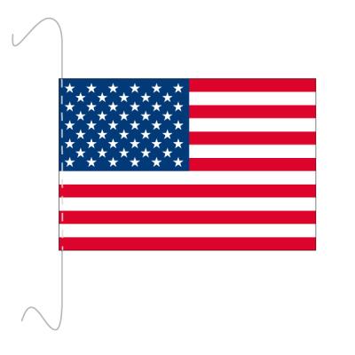 Tischfähnli, inkl.Kordel USA, 10 x 15 cm