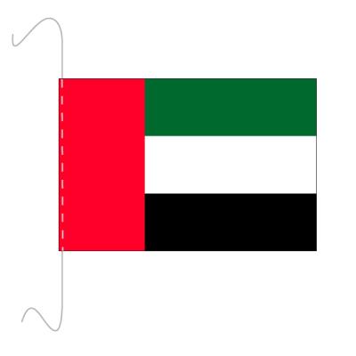 Tischfähnli, inkl.Kordel Vereinigte Arabische Emirate, 10 x 15 cm