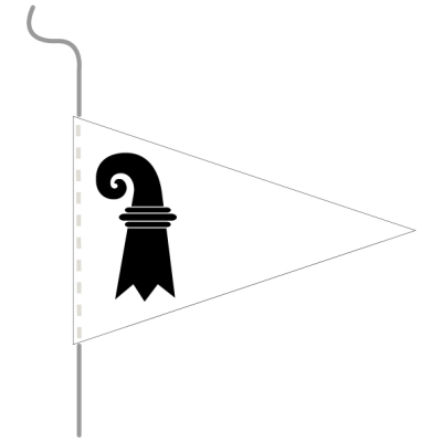 Pavillon, canton imprimé