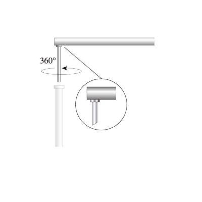 Ausleger für Fahnenbreite 100 cm, Ø 28 mm (OK Coop System)